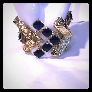 Kendra Scott chevron coco gold bracelet